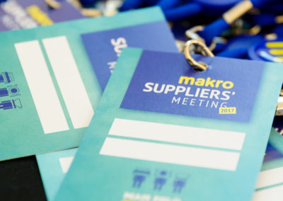 Makro Suppliers Meeting